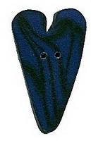 JABCo Shapes  3338.S Small Blue Velvet Heart