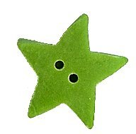 JABCo Shapes  3369.M Medium Green Apple Star