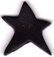 JABCo Shapes  3388.X Extra Large Black Star