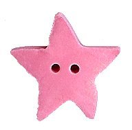 JABCo Shapes  3415.L Large Baby Pink Star