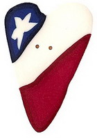 JABCo Shapes  3426.L Large Heart Flag