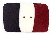 JABCo Shapes  3433.S Small French Flag