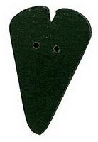 JABCo Shapes  3438.S Small Black Heart