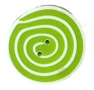 JABCo Shapes  3478.S Small Lime & White Swirl