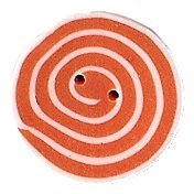 JABCo Shapes  3479.S Small Orange & White Swirl