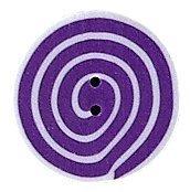 JABCo Shapes  3480.S Small Violet & White Swirl