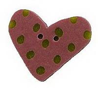 JABCo Shapes  3499.S Small Rose Lime Heart