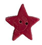 JABCo Shapes  3507.M Medium Folk Art Red Flat Star