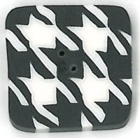 JABCo Shapes3529.S Small Black & White Houndstooth