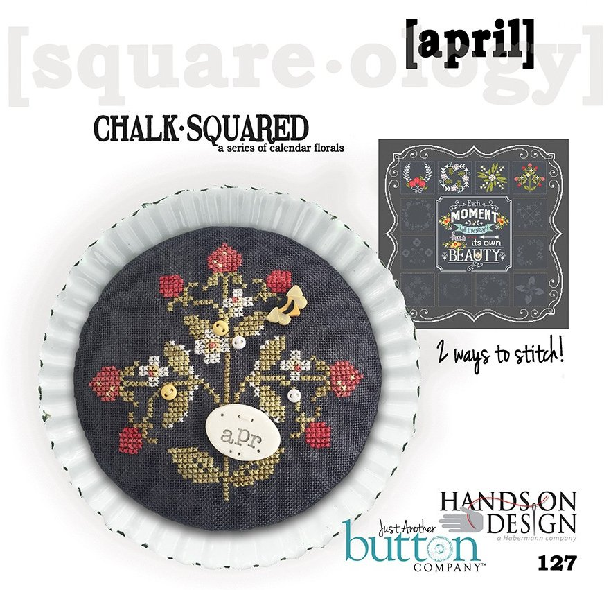 Hands On Designs & JABCo Square·ology127 Chalk·Squared ~ April