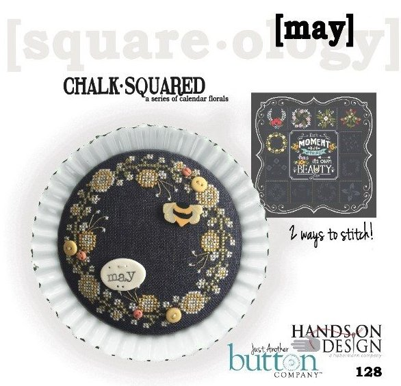 Hands On Designs & JABCo Square·ology128 Chalk·Squared ~ May