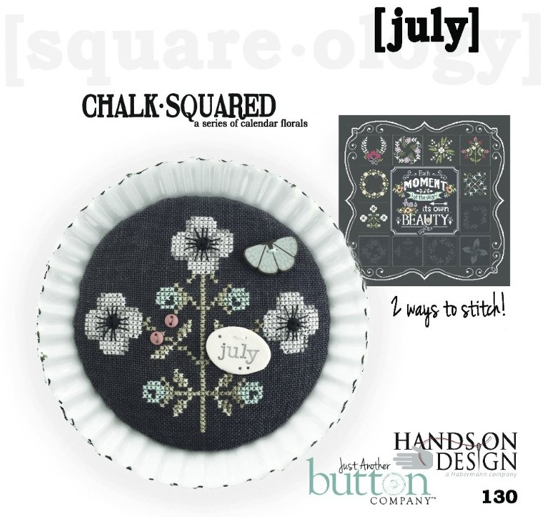 Hands On Designs & JABCo Square·ology130 Chalk·Squared ~ July
