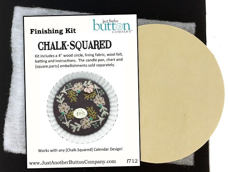 Hands On Designs & JABCo Square·ology Chalk·Squared  F712 Finishing Kit