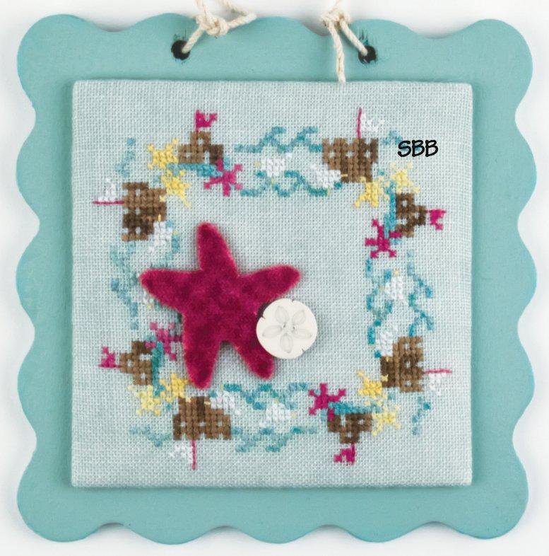 Hands On Designs & JABCo Square·ology Ahoy Series #108 Sandcastle Frame