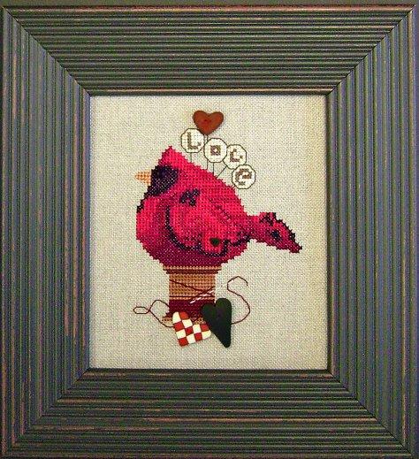 JABCstitch CH1001 Lovebird