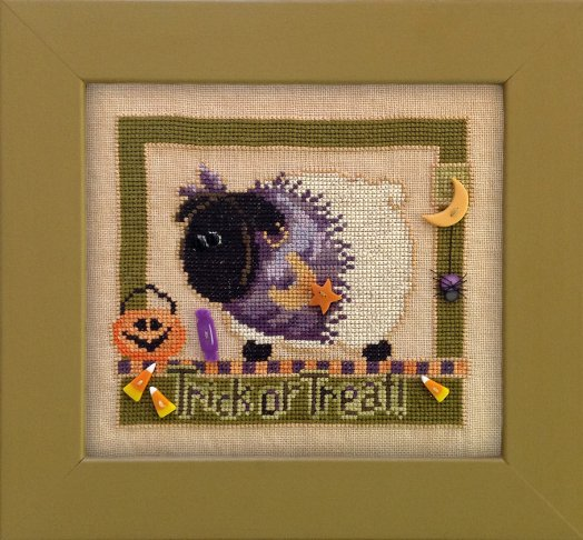 JABCstitch CH1002 Trick Or Treat With Ewe