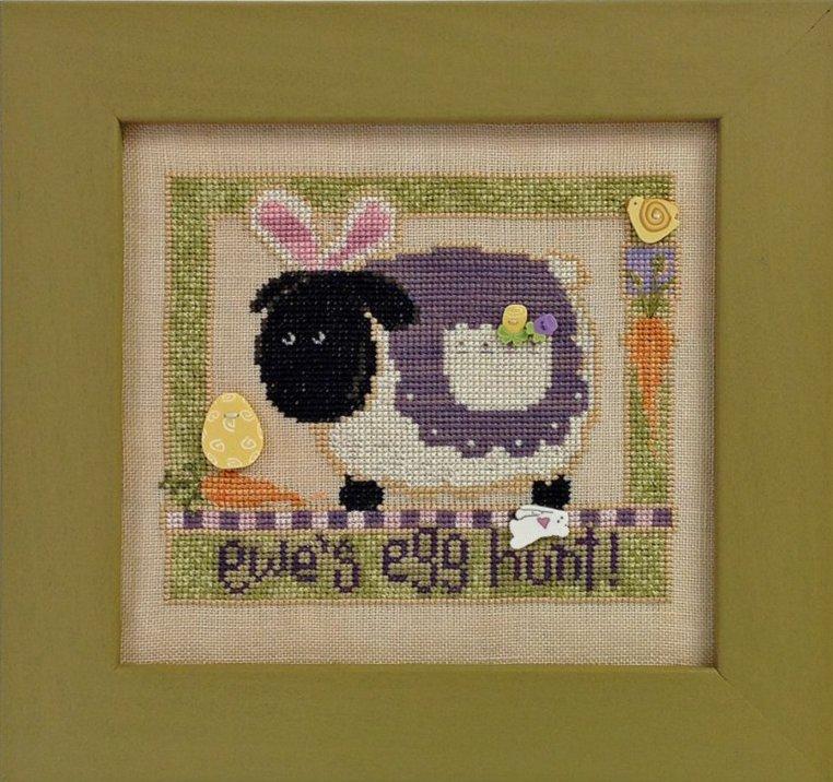 JABCstitch CH1005 Ewe's Egg Hunt
