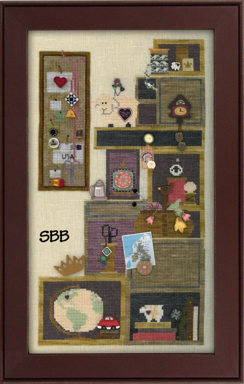 JABCstitch  CH1009 Tuffet's Cupboard Part Four