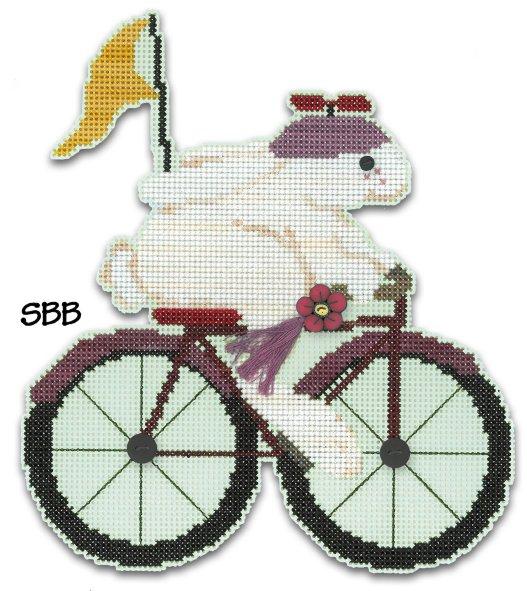 JABCstitch  CH1016 Woodland Rabbit Ornament