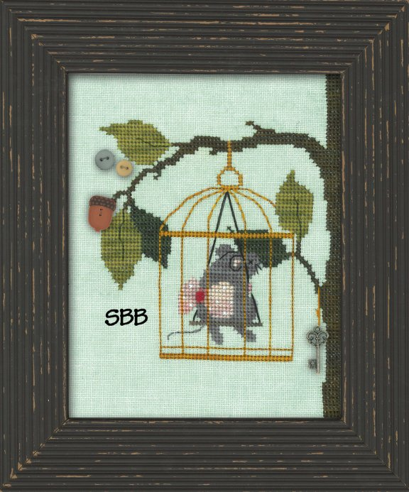 JABCstitch  CH1017 Woodland Mouse
