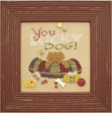 JABCo Stitch Every Day  7610X You Lucky Dog