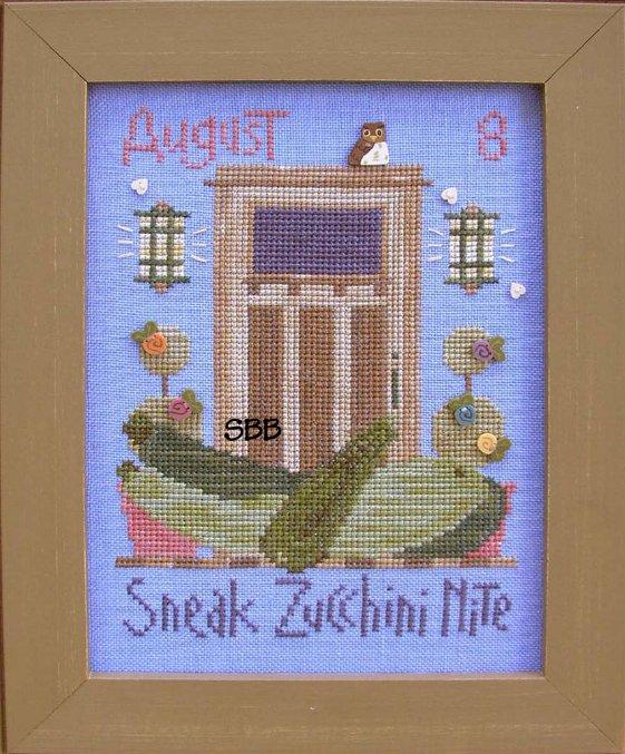 JABCo Stitch Every Day  7934 Sneak Zucchini Nite