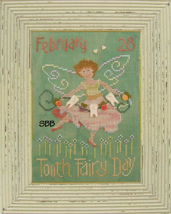 JABCo Stitch Every Day  8099 Tooth Fairy Day