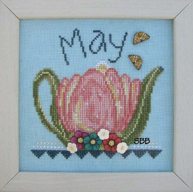 JABCo Stitch Every Day  8514 Tea Pot May