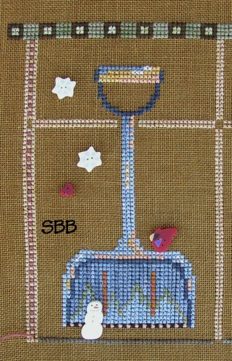 JABCo Stitch Every Day  9047 Teaspoon Collection January