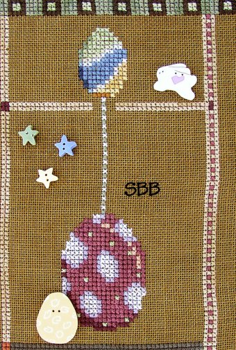 JABCo Stitch Every Day  9050 Teaspoon Collection April