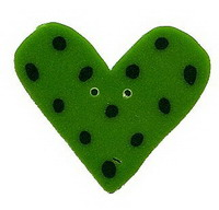 JABCo Sunshine & Shadows Collectionss1011 Green Dot Heart