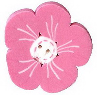 JABCo The Thirties Collectiontc1006.L Large Pink Geranium