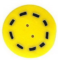 JABCo The Thirties Collectiontc1009.L Large Yellow Circle