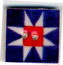 Jim Shore Buttons87001 Patriotic Ohio Star
