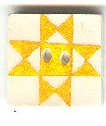 Jim Shore Buttons87002 Yellow Ohio Star