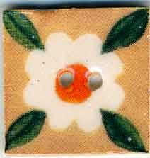 Jim Shore Buttons87022 Leafy White Bloom