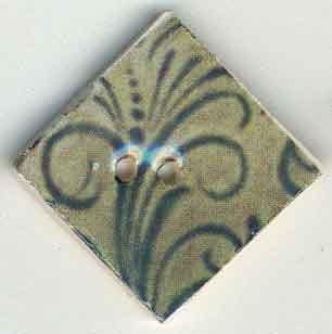 Jim Shore Buttons87038 Spruce Flourish Diamond