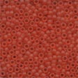 Mill Hill Frosted Glass Beads62013 Red Red