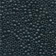 Mill Hill Frosted Glass Beads62014 Black