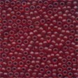 Mill Hill Frosted Glass Beads62032 Cranberry
