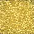 Mill Hill Frosted Glass Beads62041 Buttercup