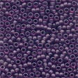 Mill Hill Frosted Glass Beads62056 Boysenberry