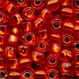 Mill Hill Pebble Glass Beads05025 Ruby
