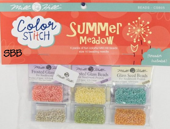 Mill Hill Color Stitch CSB05 Summer Meadow Bead Pack
