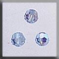 Mill Hill Crystal Treasures13019 Round Bead ~ Light Sapphire AB