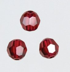 Mill Hill Crystal Treasures13106 Round ~ Scarlet