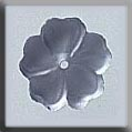 Mill Hill Glass Treasures12006 5 Petal Flower ~ Matte Sapphire