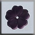 Mill Hill Glass Treasures12007 5 Petal Flower ~ Matte Amethyst
