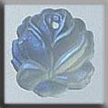 Mill Hill Glass Treasures12018 Medium Rose ~ Matte Crystal AB