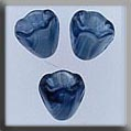 Mill Hill Glass Treasures12029 Small Bell Flower ~ Marbled Blue